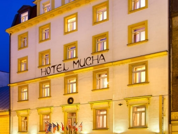 Hotel Mucha/Prága ****