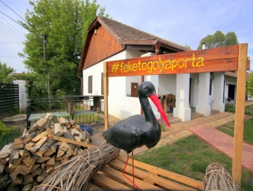 Fekete Gólya Porta